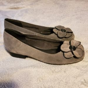 Gray Life Stride Flats